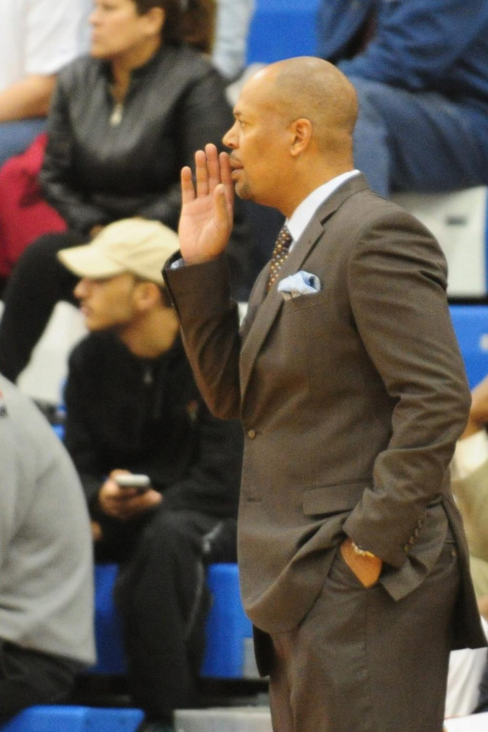 Coach Mike Jones ('91) is entering his 16th season as Stag head coach.