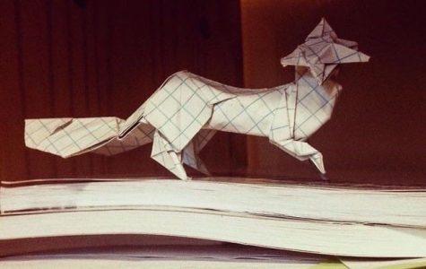 An origami fox by Tan Vu.