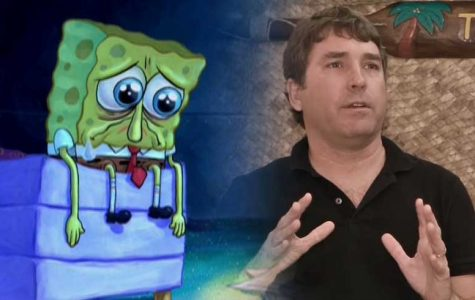 SpongeBob and the rest of the world mourn the loss of the visionary.