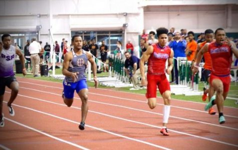 The DeMatha track team are determined to achieve their goals