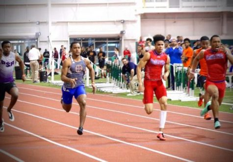 The DeMatha track team leaves everyone in the dust.